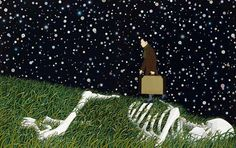 Chinese contempoary artist Chen Fei, Dark Stars on ArtStack #chen-fei #art