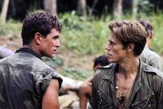 Platoon's Berenger and Dafoe