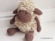 Mesmerizing Crochet an Amigurumi Rabbit Ideas. Lovely Crochet an Amigurumi Rabbit Ideas. Crochet Sheep Free Pattern, Crochet Gratis, Crochet Amigurumi, Knit Or Crochet, Cute Crochet, Amigurumi Patterns, Crochet Dolls, Crochet Baby, Knitting Patterns