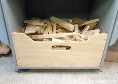 Small Workshop Ideas - Don't trip over piles of wood. Decide what to keep and what to toss.