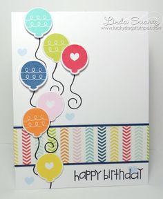 Lucky Dog Stamper: Happy Birthday