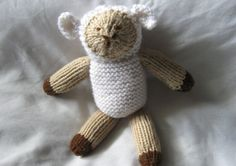 Knitted Lamb by TheRobinsonsHouse on Etsy, $14.00