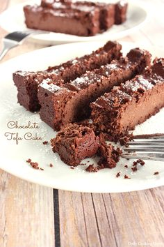 Chocolate Tofu Cake