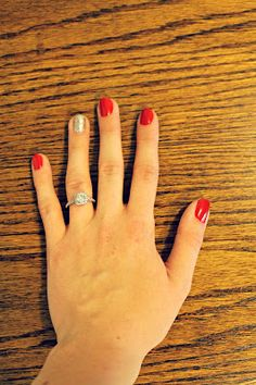 The Probst's: DIY Shellac Manicure. Definitely going to try this- no $100.00 kit required!