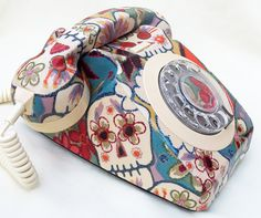 Unique Day of The Dead Sugar Skulls Decorated by lovekittypink