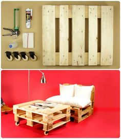 Pallet Sofa on Wheels - Pallet Sofa - 21 DIY Pallet Sofa Plans - Page 9 of 10 - DIY & Crafts