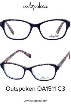 OUTSPOKEN OA1511 C3 Eyewear, Easy, Style, Swag, Eyeglasses, Stylus, General Eyewear, Sunglasses, Eye Glasses