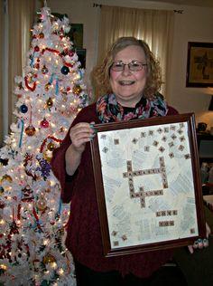 DIY Scrabble Tile Picture