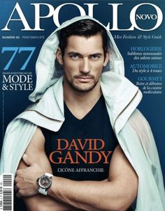 Supermodel David Gandy fronts Marks and Spencer's fall/winter 2012 menswear campaign
