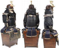Gyorin kozane (fish scale armor) dou gusoku.