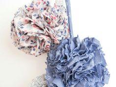 DIY -  Ponpon en tissu Froufrou