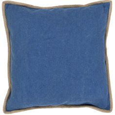 Jaipur Living Handmade Solid Pattern 22-inch Throw Pillow