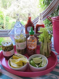 Personally...I don't like Bloody Marys. But my boyfriend does! Definitely doing this for a UT tailgate next fall.