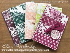 Ellen Woodbridge Independent Stampin' Up!® Demonstrator - Central Coast NSW Australia: Crafting Forever, Fresh Florals Paper Stack, In Color Ribbon