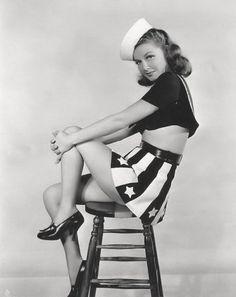 Ann Sheridan - patriotic