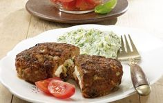 Bifteki mit Zaziki | Weight Watchers