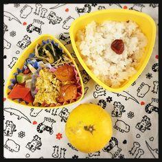 Homemade lunchbox お弁当 Oct.18, 2017 今日のお弁当メモ #お弁当 #lunchbox
