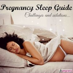 Here's the only (trimester-by-trimester) guide you need to snooze peacefully during your pregnancy. <3