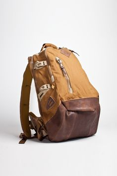 Visvim backpack // So much coffee gear would fit.