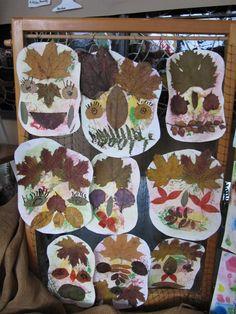 Kid Friendly Art, Diy And Crafts, Arts And Crafts, Leaf Art, Cool Designs, Autumn, Creative, Xmas, Kindergarten