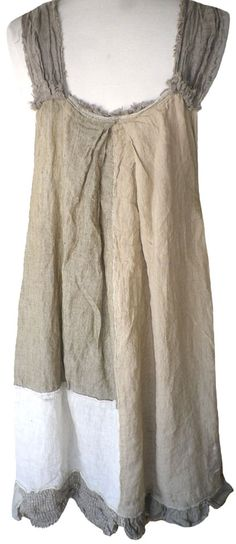 Magnolia Pearl: Patchwork linen Willow Dress
