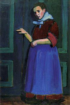 Gabriele Munter Fraulein Mathilde 1908