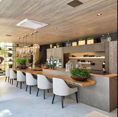 Modern Kitchen Interior kitchen inspirations - Tips for traveling on a budget from a girl who travels a lot on a budget! Modern Kitchen Design, Room Interior, Interior Design Living Room, Modern Outdoor Kitchen, Kitchen Contemporary, Modern Home Bar, Outdoor Kitchen Bars, Outdoor Kitchens, Interior Modern