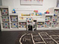 Fresh Coat of Paint: Ikea Hack: Trofast Storage System + Sundvik Chair + Ribba Picture Ledge = Dream Desk