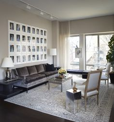 Modern Living Room in US by Neal Beckstedt Studio