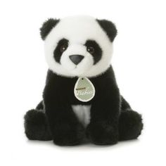 I used to have a little stuffed panda bear like this when I was young and I called it Pandy lol