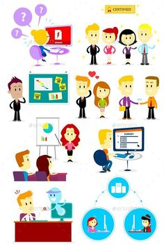 Office People Clipart 2
