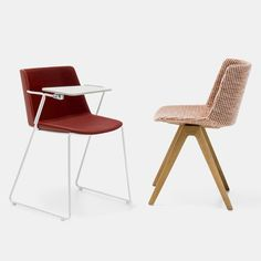 AIKU SOFT. Chairs for office, home and contract spaces. MDF Italia.