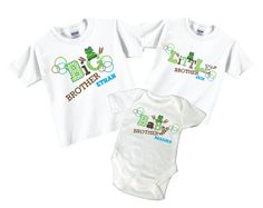 Big Brother Little Brother Baby Brother Tshirt by TheCuteTee, $37.95