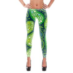 Stylish, durable, and a hot fashion staple. These polyester/spandex leggings are made of a comfortable microfiber yarn, and they'll never lose their stretch. • Fabric is 82% polyester, 18% spandex • F