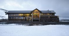 HB Architecture, Alpine Cafe, Turoa, Mt. Ruapehu, New Zealand