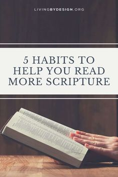 Read More Scripture: 5 Habits to Help You This Summer {  Giveaway}