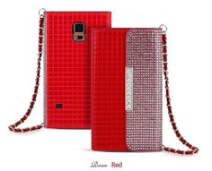 ROSEE LUXURY CLUTCH SQUARE PATTERN SMARTPHONE WALLET CASE FOR GALAXY NOTE 3