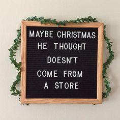 ❤️✨ • • • • #christmas #letterboard #qotd #thegrinch #grinch #holidays #holidayseason #christmasdecor #christmasdecorations