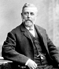 """September 28, 1836: Born, Thomas Crapper. Despite what you may have heard, Thomas Crapper did NOT invent the flush toilet. He did, however, do a lot to make it a common household item, and even created the world's first commercial showroom for sinks, toilets, and baths. He also held 9 patents, including 3 for improvements to the """"water closet."""""""