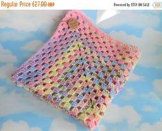 Crochet wheelchair blanket office lap blanket by Justbabydelights