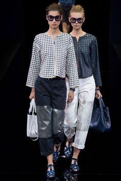 Giorgio Armani spring 2015 ready to wear collection. See more: #GiorgioArmaniAtFip, #FashionInPics