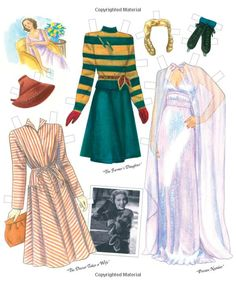 Loretta Young Paper Dolls: Paper Dolls, Marilyn Henry: