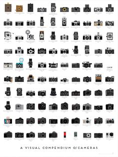 If you told someone ten years ago that the most popular camera in the world would soon be on a phone, they'd probably think you were crazy.   Pop Chart Lab put together this awesome poster featuring the most important cameras over the past 100 years.