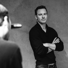 Michael Fassbender's Guide to Seduction (in GIFs) Everytime I see this guy's face I swoon!