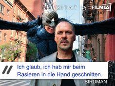 ... es gibt so Tage... #filmzitat #birdman #rasieren