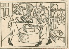 medieval woodcut occupations - Google Search
