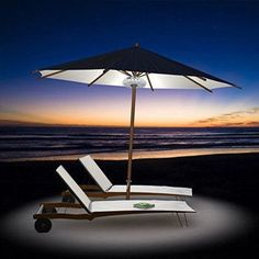 Attractive Super Bright Patio LED Umbrella Light   A Must Have For Outdoor Activities