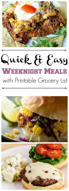 Quick & Easy Weeknight Meals #9 - www.mommysnotperfect.com