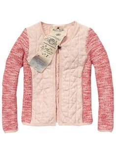 Quilted Sweat Jacket > Kids Clothing > Girls > Jackets at Scotch R'Belle