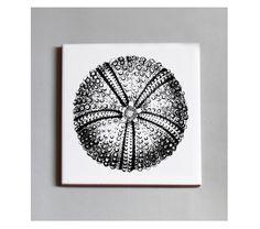 #Baldosa de cerámica con reverso en goma negra. 10x10 cm. 13,50€ c/u. #TUTÍA #Tile #Barcelonadesign